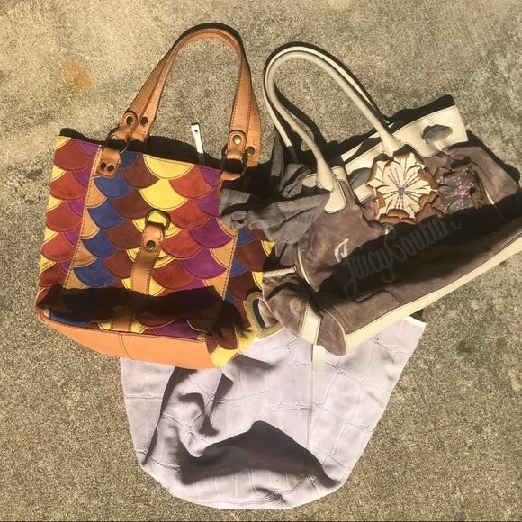 Francesco Biasia Handbags - Designer Shoulder Bag Bundle (Lot of 2)